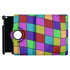 Colorful Cubes  Apple Ipad 3/4 Flip 360 Case by Valentinaart