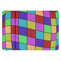 Colorful Cubes  Samsung Galaxy Tab 8 9  P7300 Flip Case by Valentinaart