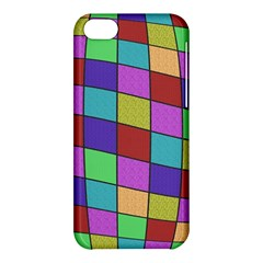 Colorful Cubes  Apple Iphone 5c Hardshell Case by Valentinaart