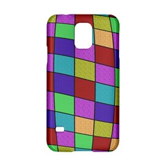 Colorful Cubes  Samsung Galaxy S5 Hardshell Case  by Valentinaart