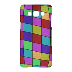 Colorful Cubes  Samsung Galaxy A5 Hardshell Case  by Valentinaart