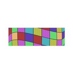 Colorful Cubes  Satin Scarf (oblong) by Valentinaart