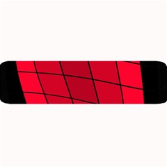 Red Abstraction Large Bar Mats
