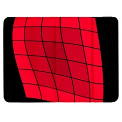 Red Abstraction Samsung Galaxy Tab 7  P1000 Flip Case by Valentinaart