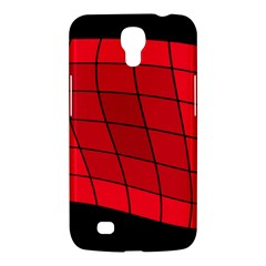 Red Abstraction Samsung Galaxy Mega 6 3  I9200 Hardshell Case by Valentinaart