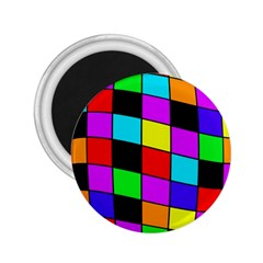 Colorful Cubes  2 25  Magnets
