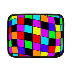 Colorful Cubes  Netbook Case (small)  by Valentinaart
