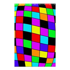 Colorful Cubes  Shower Curtain 48  X 72  (small)  by Valentinaart