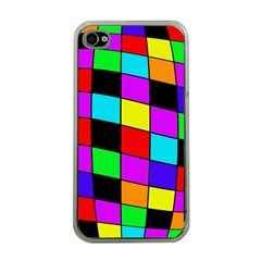 Colorful Cubes  Apple Iphone 4 Case (clear) by Valentinaart