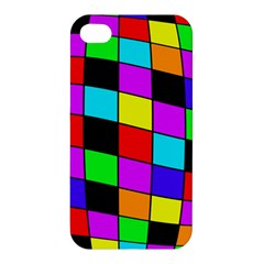 Colorful Cubes  Apple Iphone 4/4s Premium Hardshell Case by Valentinaart