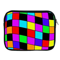 Colorful Cubes  Apple Ipad 2/3/4 Zipper Cases by Valentinaart