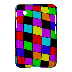 Colorful Cubes  Samsung Galaxy Tab 2 (7 ) P3100 Hardshell Case  by Valentinaart