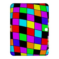 Colorful Cubes  Samsung Galaxy Tab 4 (10 1 ) Hardshell Case  by Valentinaart
