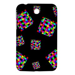 Flying  Colorful Cubes Samsung Galaxy Tab 3 (7 ) P3200 Hardshell Case