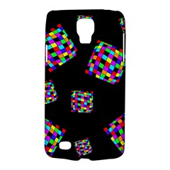 Flying  Colorful Cubes Galaxy S4 Active by Valentinaart