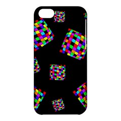 Flying  Colorful Cubes Apple Iphone 5c Hardshell Case by Valentinaart