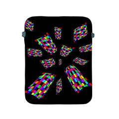 Colorful Abstraction Apple Ipad 2/3/4 Protective Soft Cases by Valentinaart
