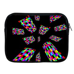 Colorful Abstraction Apple Ipad 2/3/4 Zipper Cases by Valentinaart