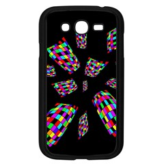 Colorful Abstraction Samsung Galaxy Grand Duos I9082 Case (black) by Valentinaart