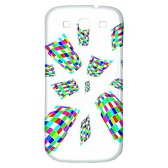 Colorful Abstraction Samsung Galaxy S3 S Iii Classic Hardshell Back Case by Valentinaart