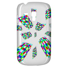 Colorful Abstraction Samsung Galaxy S3 Mini I8190 Hardshell Case by Valentinaart