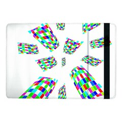 Colorful Abstraction Samsung Galaxy Tab Pro 10 1  Flip Case by Valentinaart
