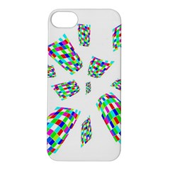 Colorful Abstraction Apple Iphone 5s/ Se Hardshell Case by Valentinaart