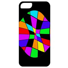 Abstract Colorful Flower Apple Iphone 5 Classic Hardshell Case by Valentinaart