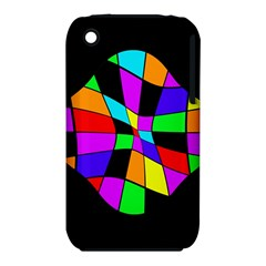 Abstract Colorful Flower Apple Iphone 3g/3gs Hardshell Case (pc+silicone) by Valentinaart