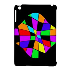 Abstract Colorful Flower Apple Ipad Mini Hardshell Case (compatible With Smart Cover) by Valentinaart