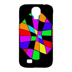 Abstract Colorful Flower Samsung Galaxy S4 Classic Hardshell Case (pc+silicone) by Valentinaart