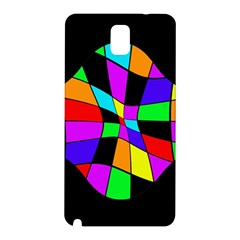 Abstract Colorful Flower Samsung Galaxy Note 3 N9005 Hardshell Back Case by Valentinaart