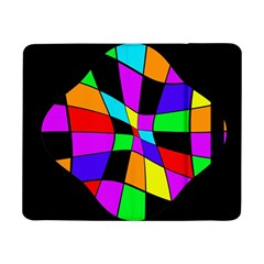 Abstract Colorful Flower Samsung Galaxy Tab Pro 8 4  Flip Case by Valentinaart