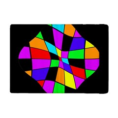 Abstract Colorful Flower Ipad Mini 2 Flip Cases by Valentinaart