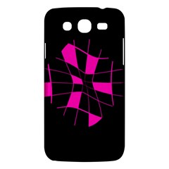 Pink Abstract Flower Samsung Galaxy Mega 5 8 I9152 Hardshell Case  by Valentinaart