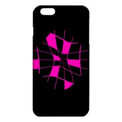 Pink Abstract Flower Iphone 6 Plus/6s Plus Tpu Case by Valentinaart