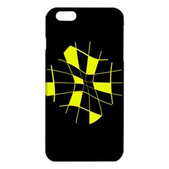 Yellow Abstract Flower Iphone 6 Plus/6s Plus Tpu Case by Valentinaart