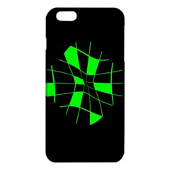 Green Abstract Flower Iphone 6 Plus/6s Plus Tpu Case by Valentinaart