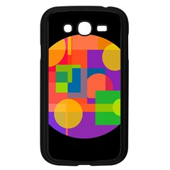 Colorful Circle  Samsung Galaxy Grand Duos I9082 Case (black) by Valentinaart