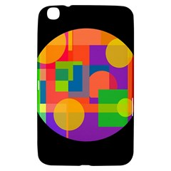 Colorful Circle  Samsung Galaxy Tab 3 (8 ) T3100 Hardshell Case  by Valentinaart