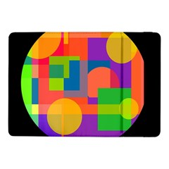 Colorful Circle  Samsung Galaxy Tab Pro 10 1  Flip Case by Valentinaart