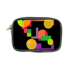 Colorful Abstraction Coin Purse by Valentinaart