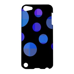 Blue Circles  Apple Ipod Touch 5 Hardshell Case
