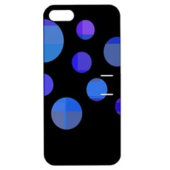 Blue Circles  Apple Iphone 5 Hardshell Case With Stand