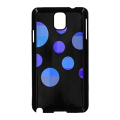 Blue Circles  Samsung Galaxy Note 3 Neo Hardshell Case (black)