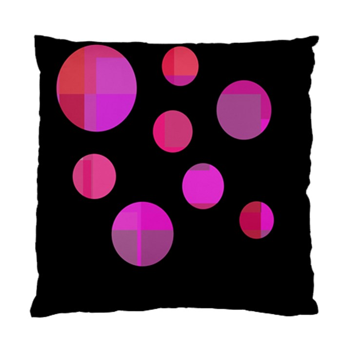 Pink abstraction Standard Cushion Case (One Side)