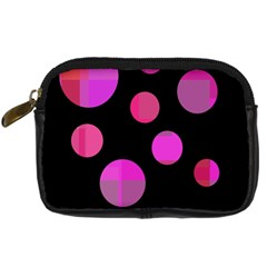 Pink Abstraction Digital Camera Cases