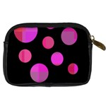 Pink abstraction Digital Camera Cases Back