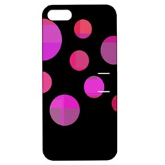 Pink Abstraction Apple Iphone 5 Hardshell Case With Stand by Valentinaart