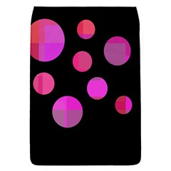 Pink Abstraction Flap Covers (s)  by Valentinaart